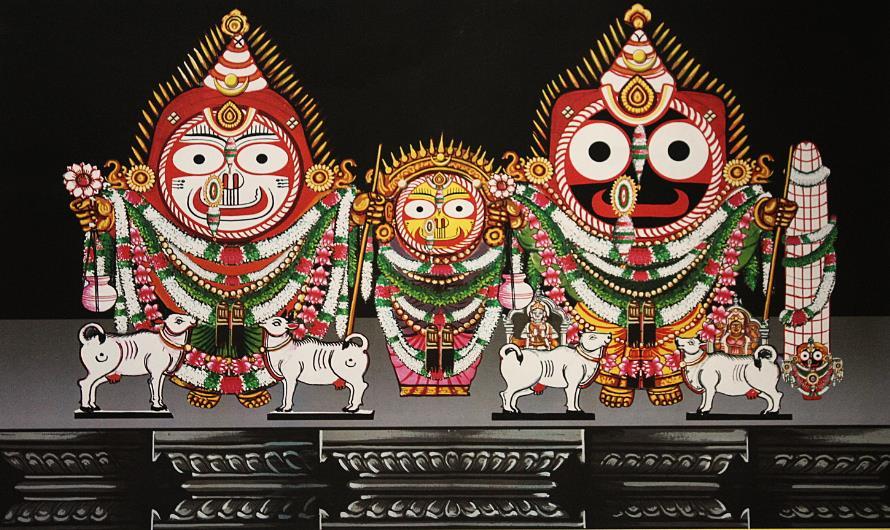 Banabhoji Besha – Costume Of Lord Jagannath
