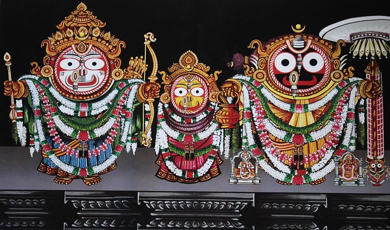 Bamana Besha / Bali Baman Besha of Lord Jagannath