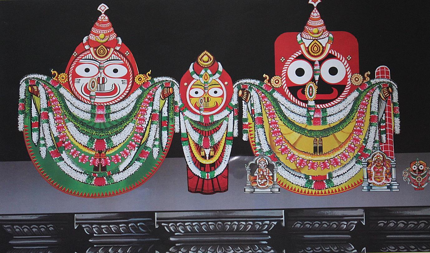 Radha Damodar Besha, Costume Of Lord Jagannath