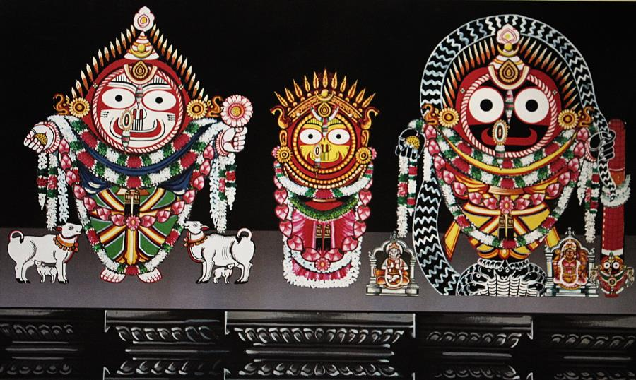 Kaliya Dalana Besha – Costume Of Lord Jagannath